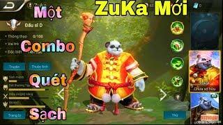 [Gcaothu] Bí quyết mới giúp tăng sức mạnh Zuka lên gấp 2 lần - Combo quét sạch vô cùng đẳng cấp