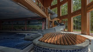 Kate Hudson's Multi Million Dollar Abandoned Mansion - Movie Theater And Indoor Water Park