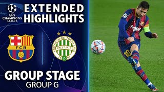 Barcelona vs. Ferencváros: Extended Highlights | UCL on CBS