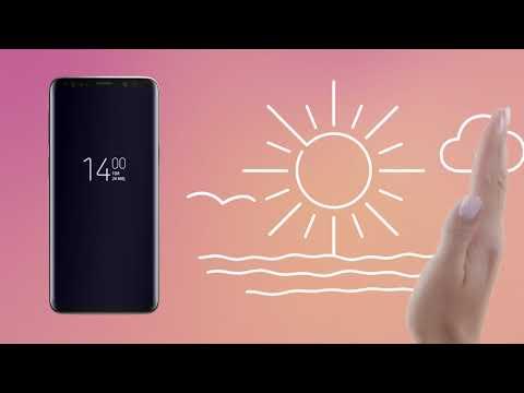 Samsung+ Galaxy S9 | S9+ Videobaggrund