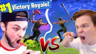Muselk Vs. Ali-A In Fortnite Battle Royale!