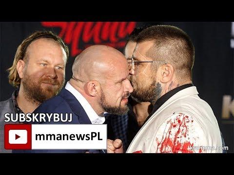 """KSW 41: Tomasz Oświeciński nie obawia się """"dostać w ryj"""" od Popka"""
