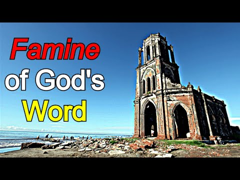 Kenneth Stewart   The Famine of God's Word movie