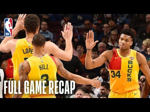 BUCKS vs 76ERS | Giannis Antetokounmpo Goes For 45 Points In Philly | April 4, 2019