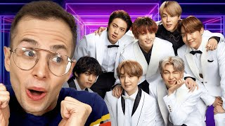 Try Guys Watch BTS Music Videos For The First Time
