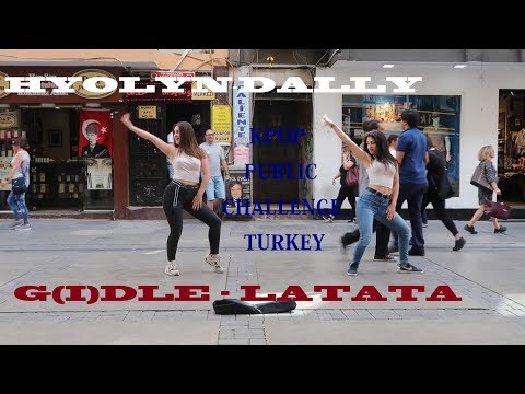 [KPOP IN PUBLIC CHALLENGE] HYOLYN - DALLY, G(I)DLE - LATATA DANCE COVER by WabiSabi from TURKEY
