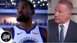 Chris Mullin reacts to Kendrick Perkins saying Warriors took Kevin Durant for granted | The Jump