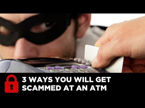 EXTRA TV: 3 Ways to Get Scammed at an ATM