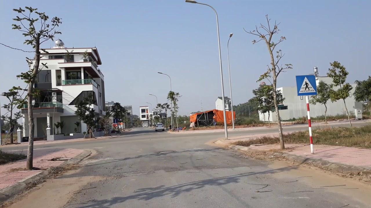 Bán đất nền Khu đô thị Nam Vĩnh Yên, 120m2 đường 33m và 108m2 đường 24m. LH 0972.525.080 video