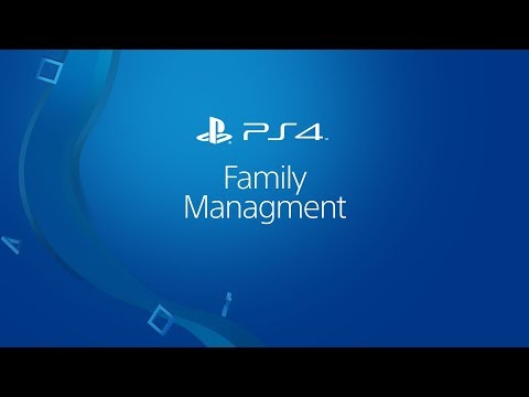 Set up Child accounts on PlayStation