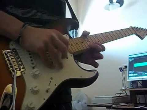 Red Hot Chili Peppers - Turn it again (guitar cover solo)
