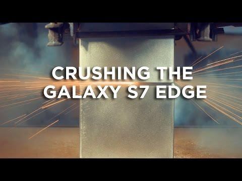 400 Ton Hydraulic Press VS Samsung Galaxy S7 Edge
