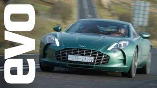 Aston Martin One-77 drive - evo Diaries world exclusive review