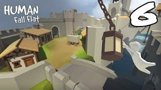 """The FGN Crew Plays: Human Fall Flat #6 """"Speed Boat"""""""