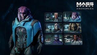 Mass Effect: Andromeda - Játékmenet Sorozat #2: Karakterek