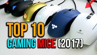 Top 10 Gaming Mice for FPS, MOBA, MMO (2017)