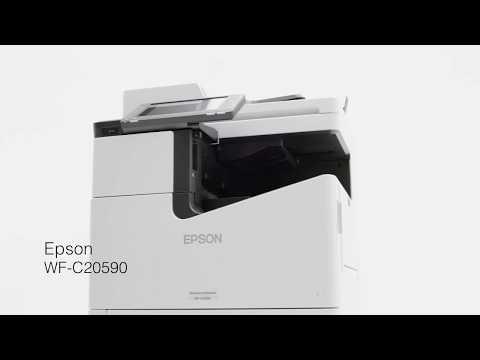 WorkForce Enterprise WF-C20590: Simplex Printing Speed Comparison