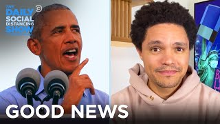 Obama Roasts Trump & Pope Francis Approves Same Sex Civil Unions | The Daily Social Distancing Show