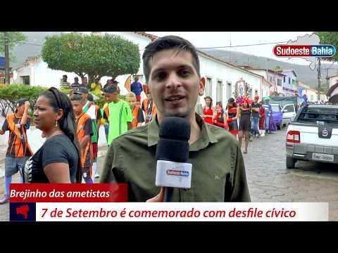 Caetité: 7 de Setembro é comemorado com desfile cívico em Brejinho das Ametistas
