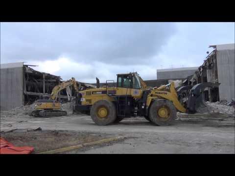 Randall Park Mall Demolition Video