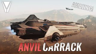 The Firefly of Star Citizen? Carrack Tour!