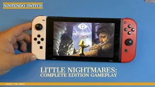 Nintendo Switch Little Nightmare: Complete Edition Gameplay