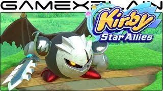 Kirby Star Allies - Dark Meta Knight Overview Trailer (More Moves!)