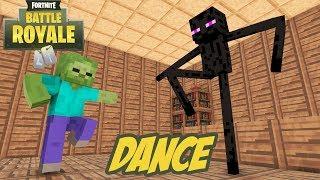 Monster School : Fortnite Dance Challenge - Minecraft Animation