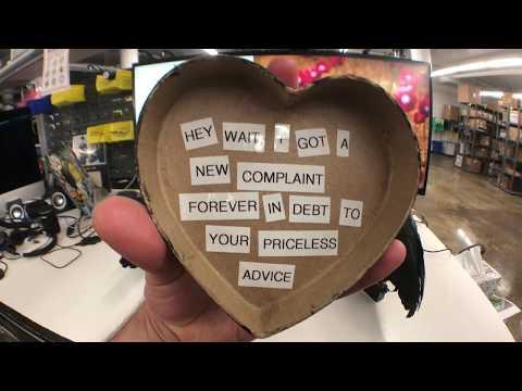 Heart Shaped Box by @Nirvana made with @adafruit #CRICKIT CircuitPlayground & #CircuitPytho