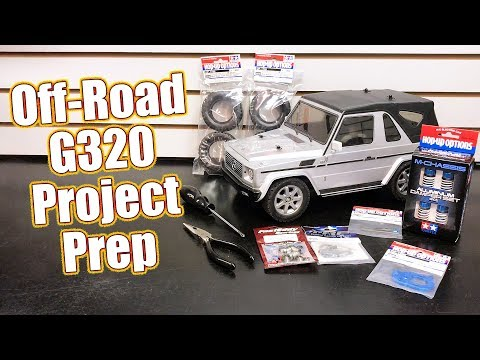 Building A Better Off-Roader! - Tamiya MF-01X Mercedes G320 Project - Part 1: Overview   RC Driver