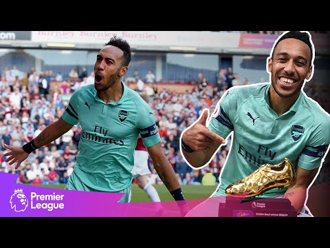 Aubameyang's SPECTACULAR goal to seal the golden boot! | Premier League | Classic Goals From MW27
