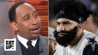 Stephen A. rejoices in the Cowboys' playoff loss to the Rams | Get Up!
