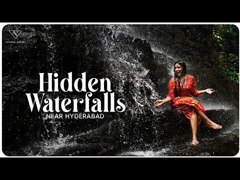 Travel Vlog: Vithika Sheru visits best waterfall near Hyderabad