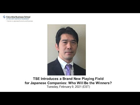 TSE Introduces a Brand New Playing Field for Japanese Companies: Who Will Be the Winners?