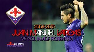 ⑥ Juan Manuel Vargas ● All 25 Gol with ACF Fiorentina