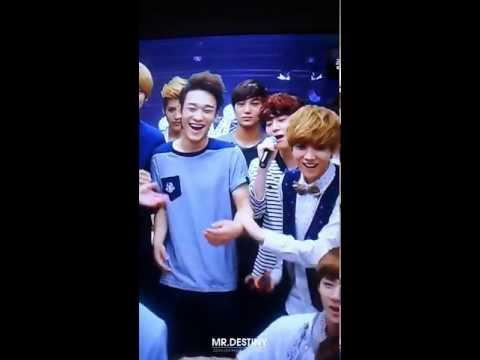 120810 EXO KTV [Members Playing Around] at  S.M. ART EXHIBITION