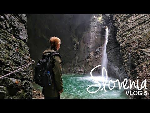 Slovenia: Tolmin Gorge & Slap Kozjak | Vlog 05 | WORLD WANDERISTA