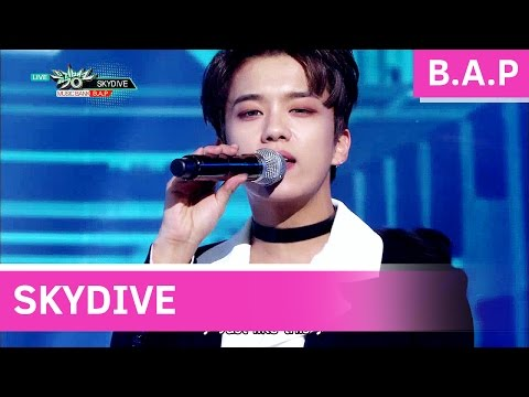 B.A.P - SKYDIVE [Music Bank / 2016.11.25]