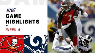 Buccaneers vs. Rams Week 4 Highlights   NFL 2019