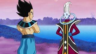 Vegeta Surpassing Goku