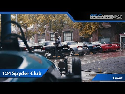 Aftermovie Fiat 124 Spyder Club By BR-Performance