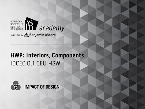 Course Preview: HWP: Interiors, Components (1)