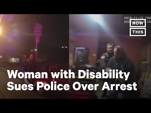 Police Arrest Woman with Disabilities for Riding Mobility Scooter Without Helmet | NowThis