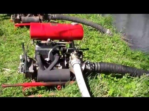 Feuerwehrpumpe TS 8 DDR