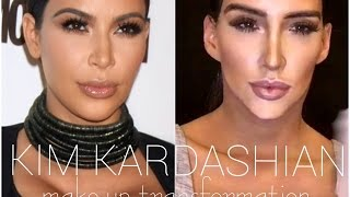 KIM KARDASHIAN make-up TRANSFORMATION!!! 💋