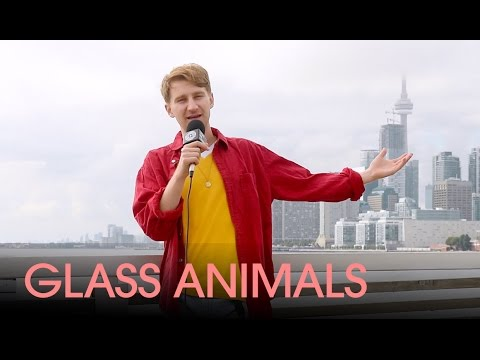 Dave Bayley of Glass Animals on