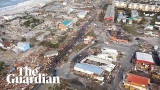Hurricane Michael: footage shows devastation in Florida's Mexico Beach