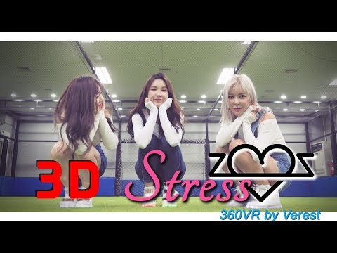 [4K Full 3D 360 VR] ZZBAE(???) 'Stress' (Jeans fashion version by (Verest) 360 VR