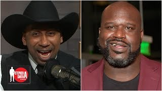 Shaq prank calls Stephen A. as Cowboys fan 'Tex Johnson' | Stephen A. Show