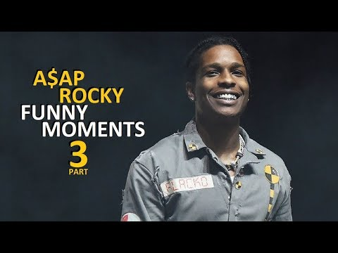 A$AP Rocky FUNNY MOMENTS Part 3 (BEST COMPILATION)